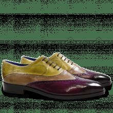 Oxford schoenen Lewis 4 Eggplant Marble Cedro