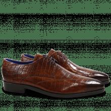 Derby schoenen Lewis 9 Crock Wood LS Brown
