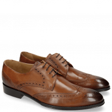 Derby schoenen Kane 5 Wood LS Brown