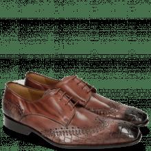 Derby schoenen Clark 1 Crock Wine