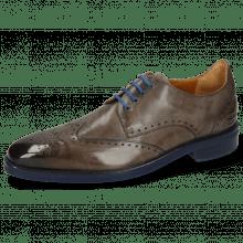Derby schoenen Dave 2 Monza Stone Laces Blue