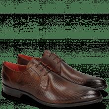Derby schoenen Toni 1 Dice Wood Modica Red
