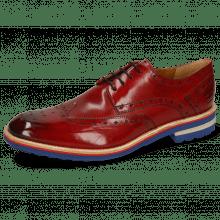 Derby schoenen Eddy 5 Crust Ruby