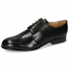 Derby schoenen Sally 1 Black Lining Rich Tan