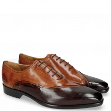 Oxford schoenen Lance 44 Mogano Wood Tan