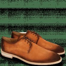Derby schoenen Ryan 3 Suede Pattini Orange Shade Mogano