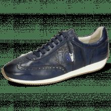 Sneakers Rocky 5  Pisa Navy Underlay Nude Lasercut