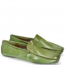 Loafers Home Donna  New Grass Split Black