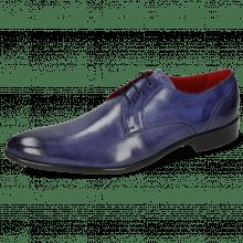 Derby schoenen Toni 1 Forum Light Cobalt Lining Red