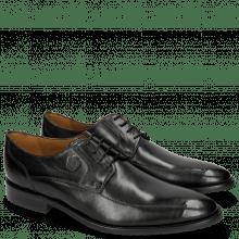 Derby schoenen Victor 1 Rio Black