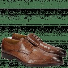 Derby schoenen Clark 18 Turtle Dark Brown