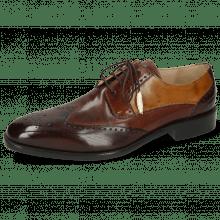 Derby schoenen Jeff 14 Vegas Dark Brown Mogano Vegas Wood
