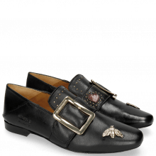 Loafers Luna 2 Nappa Black Bee Gold
