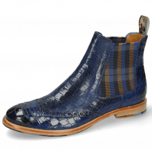 Enkellaarzen Amelie 77 Crock Electric Blue Loop Camo