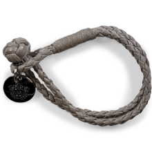 Armbanden Caro 1 Woven Stone Accessory Nickel