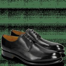 Derby schoenen Lionel 3 Black LS Grey