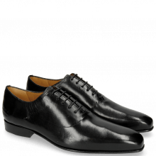 Oxford schoenen Lewis 42 Black LS Thin Black