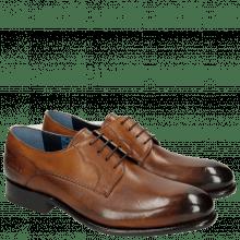 Derby schoenen Charles 1 Dark Brown LS