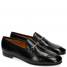 Loafers Scarlett 1 Black Trim Gold