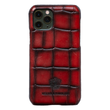 iPhone hoesje Eleven Pro Turtle Red Edge Shade Black