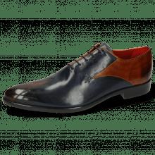 Oxford schoenen Toni 31 Wood Navy Lining