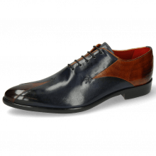Oxford schoenen Toni 31 Wood Navy Lining