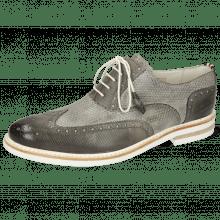 Oxford schoenen Scott 12 Dice Grigio Vegas Perfo Oxygen