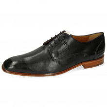 Derby schoenen Elyas 4 Imola Black Patch