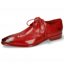 Derby schoenen Elvis 63 Ruby Lining Red
