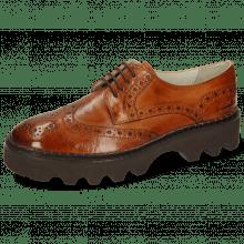 Derby schoenen Jenny 6 Monza Tan