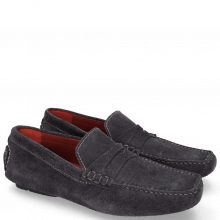Loafers Driver 4 Suede Pattini Oriental