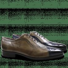 Oxford schoenen Lance 16 Navy Smoke Morning Grey