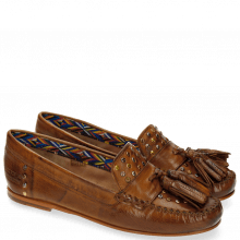 Loafers Bridget 2 Milano Tan Multi Rivets