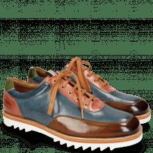 Sneakers Niven 10 Nougat Mock Navy Earthly Bio Algae