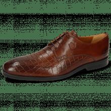 Derby schoenen Greg 4 Venice Crock Wood