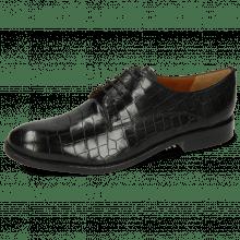 Derby schoenen Amelie 14 Crock Black Lining Rich Tan