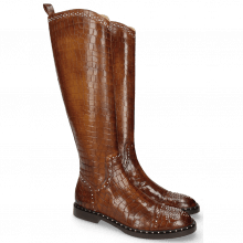 Laarzen Sally 116 Crock Mid Brown Lining Rich Tan