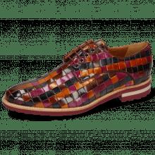 Derby schoenen Brad 7 Woven Multi 7 Lining Rich