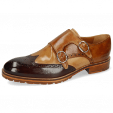 Monks Patrick 24 Mid Brown Sand Tan Tortora