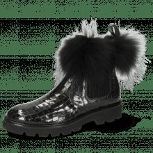 Enkellaarzen Sally 114  Crock London Fog Collar Fur