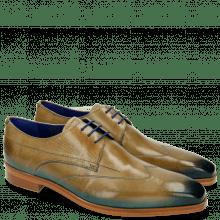 Derby schoenen Lewis 9 Visone Shade Bluette