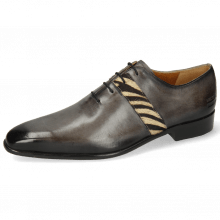 Oxford schoenen Lance 60 Grigio Hairon Zebra