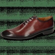 Oxford schoenen Gaston 1 Plum Shade Black