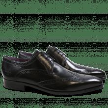 Derby schoenen Lance 2 Crust Black HRS
