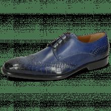 Derby schoenen Clark 1 Crock Electric Blue Lining