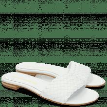 Muiltjes Hanna 26 Woven White