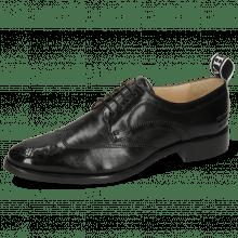 Derby schoenen Betty 16 Imola Black Strap M&H Flex