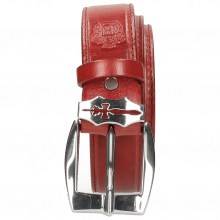 Riemen Larry 1 Ruby Sword Buckle
