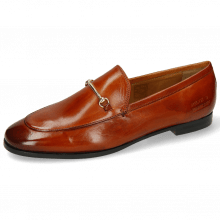 Loafers Scarlett 1 Burnt Orange Trim Gold