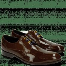Derby schoenen Kane 2 Soft Patent Taupe